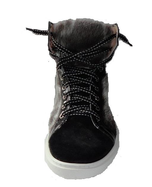 2fbe10bd5c5a Herre ringsælskinds-sneakers high.