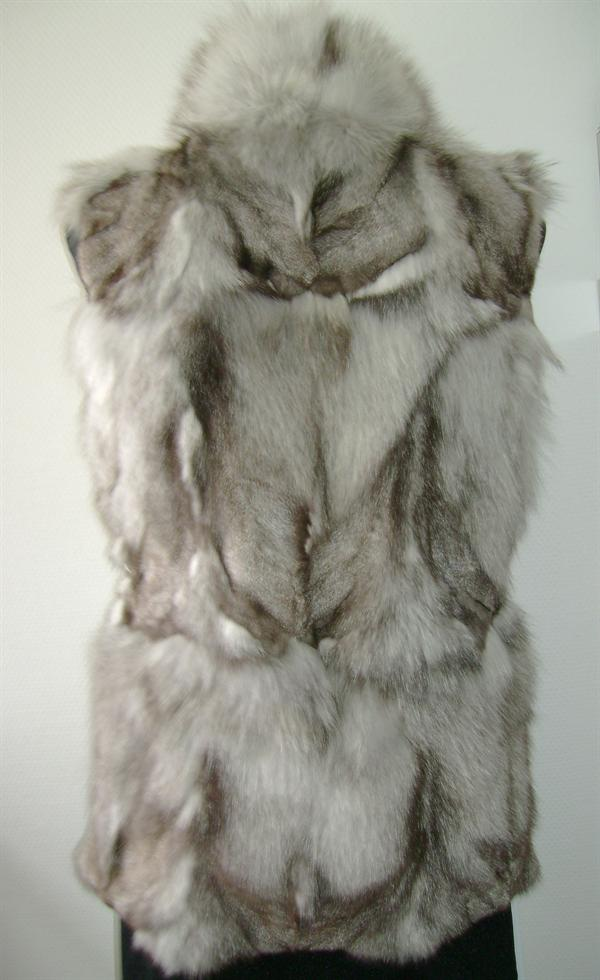 kort fox leg vest bag