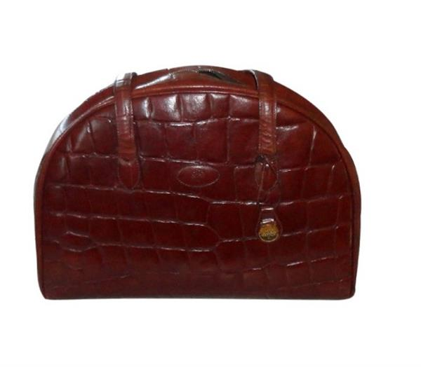 stor brun vintage mulberry hotsjok for