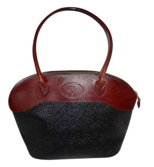 stor sort mulberry vintage taske hotsjok bag